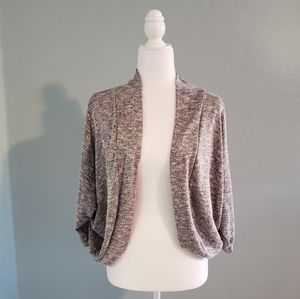 Lightweight Shrug with 3/4-Length Sleeves